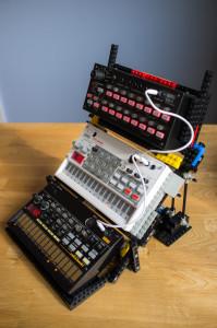 Tre nivåer av musikinstrument - i LEGO
